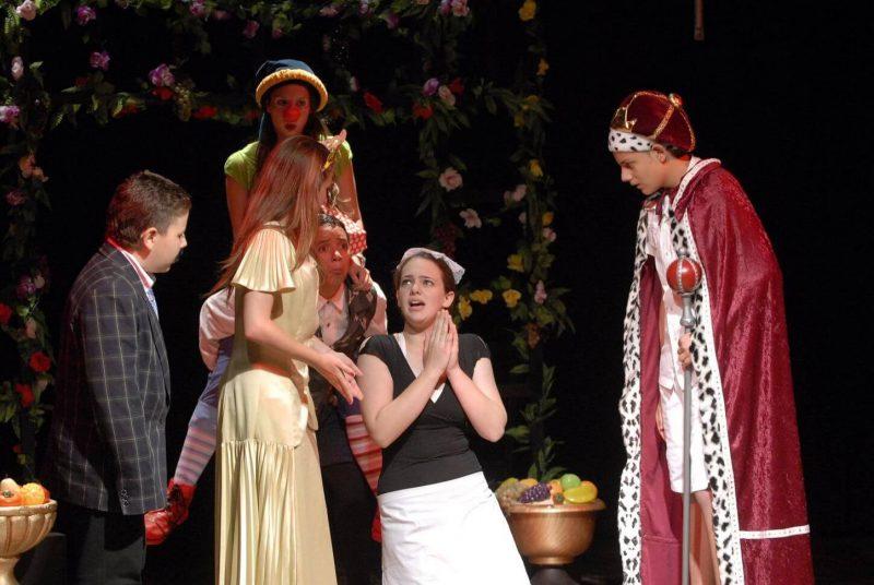 הצגה במסגרת חוג תיאטרון לילדים - לנוער