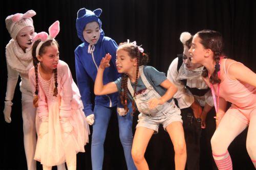 הצגה במסגרת חוג סדנת - תיאטרון לילדים - לנוער