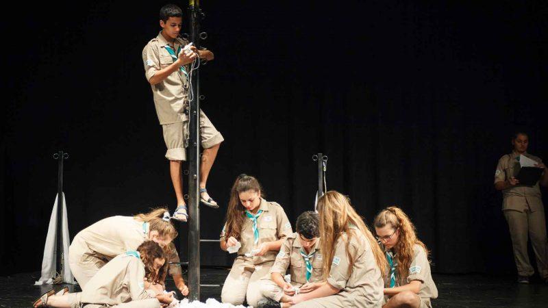 הצגה במסגרת בימת הנוער הסטודיו למשחק לילדים - לנוער