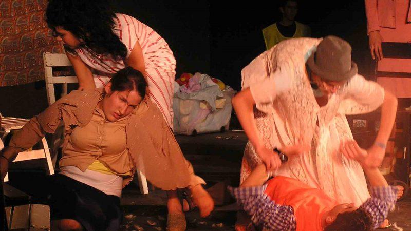 הצגה במסגרת לימודי משחק לילדים - לנוער